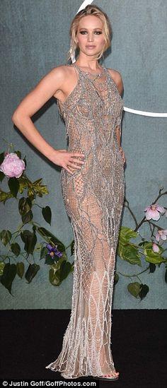 Jennifer Lawrence in Atelier Versace