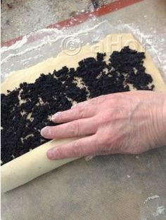 Rolling Poppyseed Kolach Read Recipe by sdsauthoff Slovak Recipes, Czech Recipes, Ethnic Recipes, Hungarian Desserts, Hungarian Recipes, Poppy Seed Recipes, Slovakian Food, Eastern European Recipes, Polish Recipes