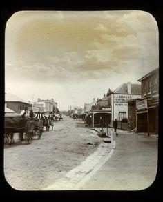 Church Street Parramatta c1890. History Parramatta NSW, Australia
