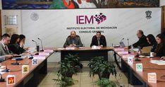 En sesión ordinaria llevada a cabo este vierneselConsejero Presidente del Instituto Electoral de Michoacán, presentó su Informe anual, en cumplimiento al artículo 36, fracción XXIV, del Código Electoral del Estado ...