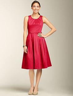 Talbots - Fit & Flare Dress | Dresses | Misses- Mother of Bride or Groom Dress