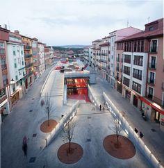 Teruel-zilla. Guarida subterránea de ocio y espacio público   b-ing   b-guided Barcelona