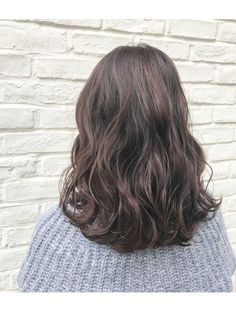 Medium Short Hair, Medium Hair Styles, Curly Hair Styles, Blonde Hair For Brunettes, Brown Blonde Hair, Mid Length Hair, Shoulder Length Hair, Korean Wavy Hair, Digital Perm
