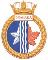 HMCS Niagara Badges, Royal Canadian Navy, Naval, Crests, Chicago Cubs Logo, Armed Forces, Arms, Logos, Patches