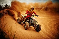 dirt quad racing / #action #adrenaline #rush #alive