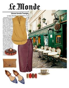 Sunday Morning in Paris by asilosky on Polyvore featuring polyvore, fashion, style, River Island, SuperTrash, The Code, Ellen Tracy and clothing