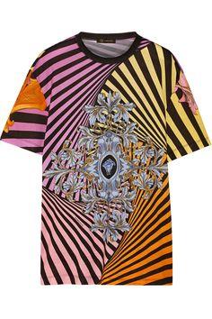 VersacePrinted cotton T-shirt