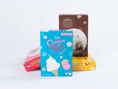 Squat New York - Pereg Quinoa Pops #Packaging #Design #Cereal — World Packaging Design Society / 世界包裝設計社會 / Sociedad Mundial de Diseño de Empaques