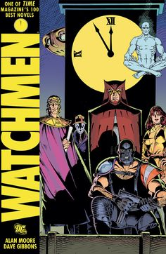 Watchmen by Alan Moore | Graphic Novels 101: A Beginners Guide