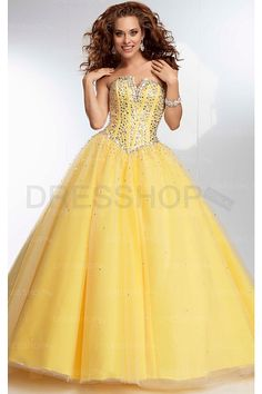 Sweetheart Tulle Lace-up Sleeveless Floor-length Quinceanera Dresses - Evening Dresses - Special Occasion Dresses - Dresshop.com.au