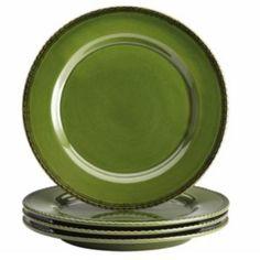 BonJour Sierra Pine 4-pc. Dinner Plate Set