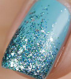 Glitter Tips with Dior Saint Tropez & Nails Inc Hammersmith | A Polish Addict