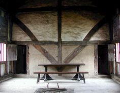 mediaeval hall house - North Cray house. Google Search
