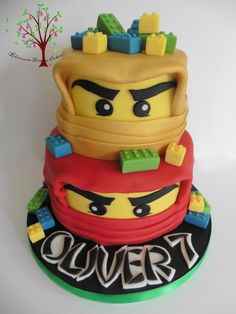 Lego Ninjago by Blossom Dream Cakes - Angela Morris