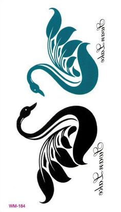 swan tattoo - Google Search