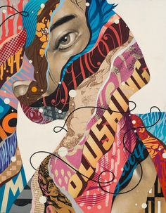 """Tristan Eaton, """"Changing the Subject."""""""