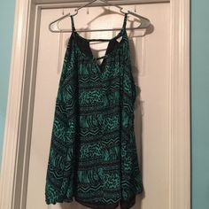 Animal Print Tank Top Adorable top for all of your summer adventures! It's brand new and never been worn. Rue 21 Tops Tank Tops
