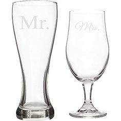 Amazon.com: bride and groom beer glasses: Home & Kitchen