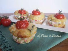 Semplici e deliziosi Muffin con Zucchine con un cuore di formaggio, semplici e veloci da preparare e squisiti da mangiare in un sol boccone