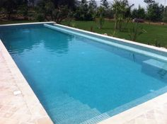 Swimple - Glass Mosaic Pool Tiles