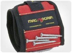50 Coolest Gifts for Guys Under 25 Dollars - I especially like the MagnoGrip wristband (pictured here), the Mosaic Photo Book and the Zippo Hand Warmer. The rinser toothbrush is interesting, too!