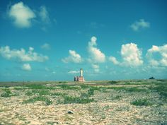 #Lighthouse #in #the #Middle #of #Little #Curaçao