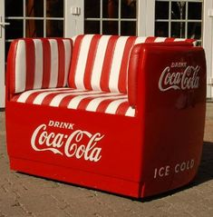 Somewhere to sit while I drink my Coca-Cola. - Coca Cola - Ideas of Coca Cola - Ideas of Coca Cola - Somewhere to sit while I drink my Coca-Cola.