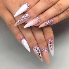 One of my favourite looks, simple with just a touch of bling  not so pointy  ⠀ ⠀⠀⠀⠀⠀⠀ ⠀⠀⠀ ⠀⠀⠀ #nail #nails #nailart #nailwow #nailswag #instanails#ignails#nailstagram #handpainted#nailsofinstagram #nails2inspire #nailsoftheday #notd#nailaddict #nailartclub #nailpromote #naildesigns #nailartist #almondnails nails #nailprodigy #gelnails #pinchednails #sydneyartist