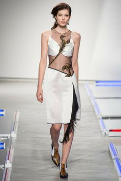 Rodarte | Spring 2014 Ready-to-Wear Collection | Larissa Hofmann Modeling | Style.com