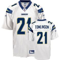 Men`s San Diego Chargers  21 LaDanian Tomlinson Road Replica Jersey San  Diego Chargers 8db68d6e0