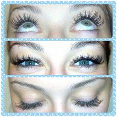 A fun look for Miss Kylie. Eyelash extensions by Morgan Tebbs McGrath.