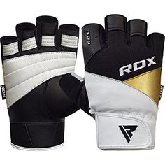 RDX Weight Lifting Gloves Gym Fitness Crossfit Workout Powerlifting Bodybuilding Exercise Cowhide Leather Breathable Wrist Support Strength Training -- Learn more by visiting the image link. (This is an affiliate link and I receive a commission for the sales) #ExerciseFitnessAccessories