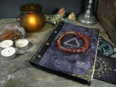 Items similar to Old book of shadows with blank pages/Grimoire journal/Witch's travel diary/ Book for wiccans on Etsy Pagan Altar, Wiccan, Universe Size, Diary Book, Blank Page, Magic Book, Old Books, Book Of Shadows, Gothic
