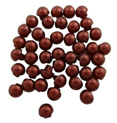 Pearl Round Brown Craft Dress Shank Diy Plastic Button Imitation Sewing 44 Pieces ** See this great product.