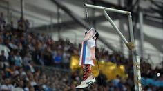 Photo de la potence  Mathieu Valbuena OM OL 1-1 vélodrome