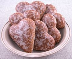 Lebkuchen, also called Pfefferkuchen, is German gingerbread. These cookies are either rectangular or round, they have a sweet, lightly nutty taste, and their aroma is spicy, a bit like nutmeg and allspice. They are usually soft with a slight crunch from chopped nuts.