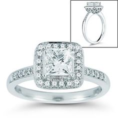 I love love love this ring too bad its $5,299.99 it has everything I want and it looks old fashioned from the side
