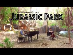 The Piano Guys Perform a Beautiful Rendition of the 'Jurassic Park' Theme Song at Crawdad Canyon in Veyo, Utah