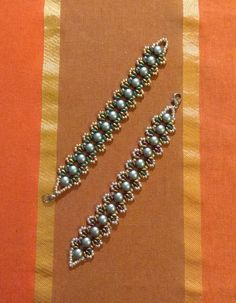 Beaded Jewelry, Beaded Bracelets, Jewellery, Beads, Diamond, Beading, Jewels, Pearl Jewelry, Pearl Bracelets