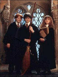 ハリーとロンとハーマイオニー・グレンジャー