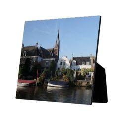 A photo of the Dutch village Breukelen, on the bank of the river Vecht, province Utrecht, The Netherlands.