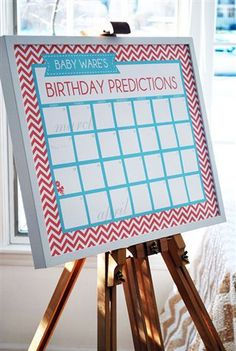 Calendar quess baby's birth date