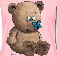 Teddybär | yippeee - lustige Comics und Cartoons Comics Und Cartoons, Baby T Shirts, Baby Accessoires, Book Value, Comic Books, Teddy Bear, Toys, Animals, Funny Cartoons