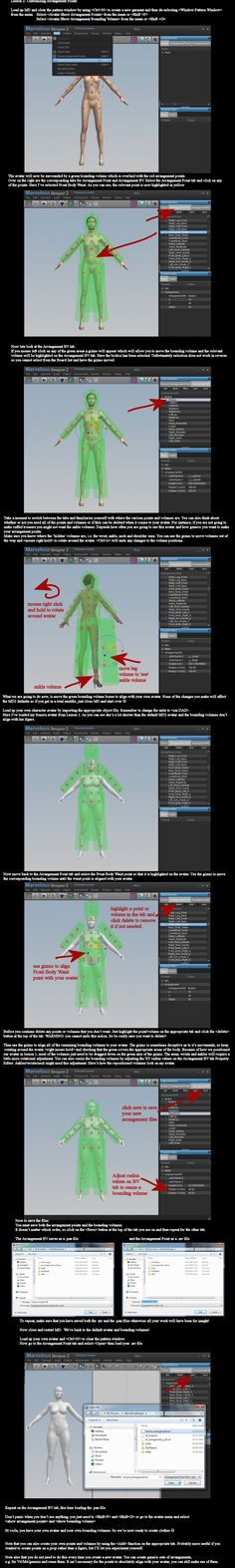 MD2 and DAZ Studio: Creating Arrangement Points by dylazuna