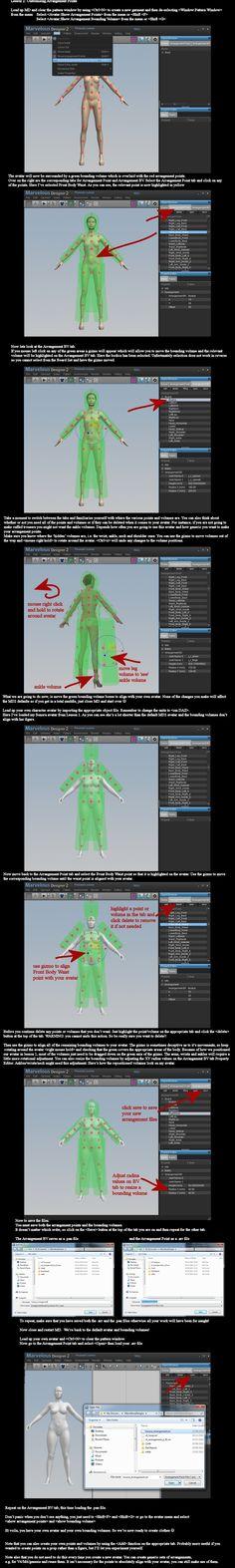 MD2 and DAZ Studio: Creating Arrangement Points by dylazuna