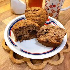 Csokis kókuszos muffin Muffin, Banana Bread, Food, Muffins, Meal, Essen, Hoods, Cupcakes, Meals