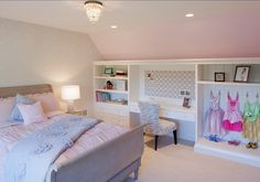 Girl's room Design Interior Design Ideas - Home Bunch - Love the built-ins and especially the chair