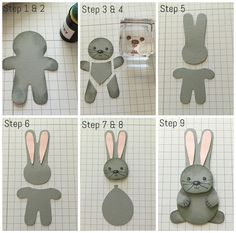 Cookie Cutter Christmas Stamp Set & Punch - Easter Bunny…