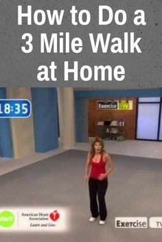 Start Walking at Home - 3 Mile Indoor Walk - The Truth About Weight Loss - leslie sansone Walking Training, Walking Exercise, Walking For Fitness, Tai Chi Exercise, Walking Workouts, Senior Fitness, Fitness Tips, Health Fitness, Fitness Exercises