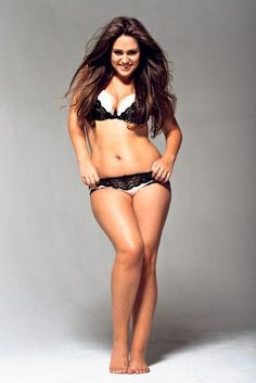 Women like these give me confidence about myself and my body :) She is beautiful.